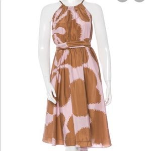 DVF Silk Naro dress. NWT.